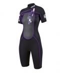 Jobe Shorty Indy Purple Women  (Small)